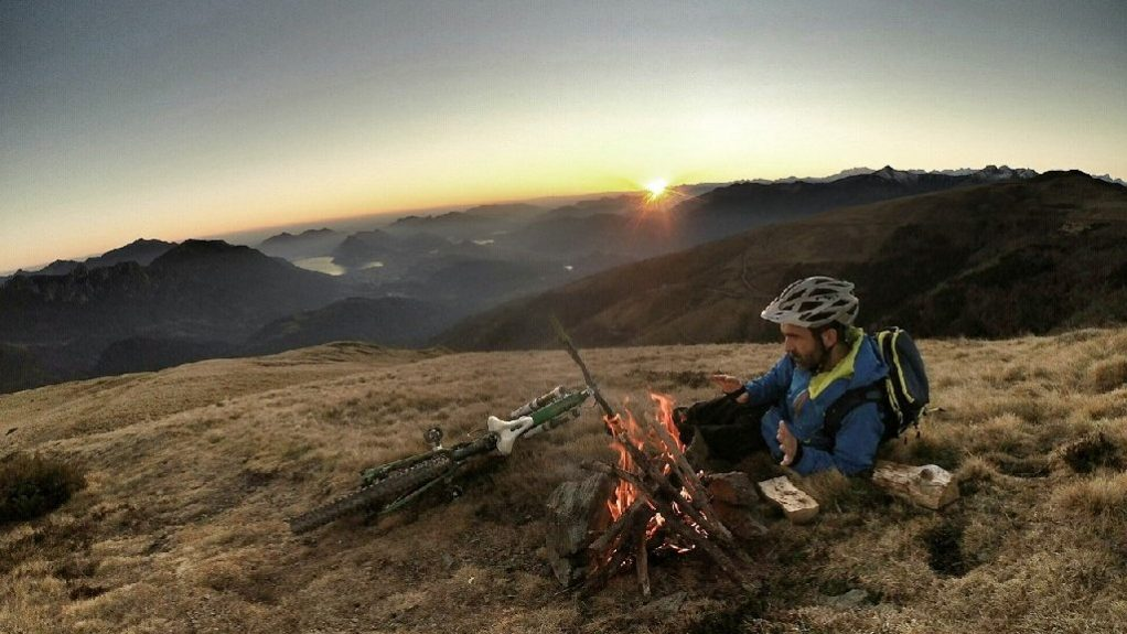 Bike camping bike packing on the south downs surrey hills weekend trips