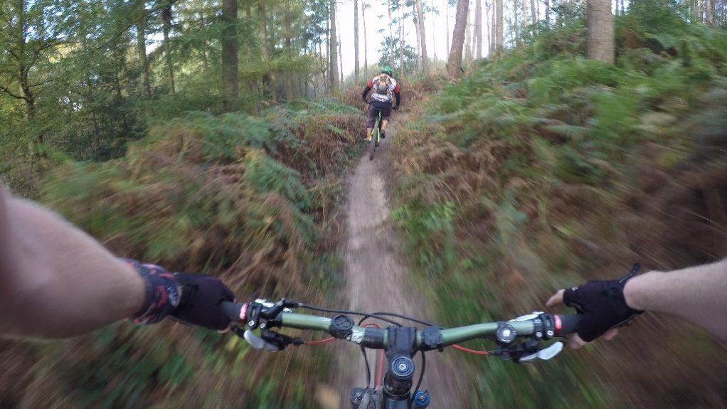 Surrey Hills MTB weekends short breaks holidays