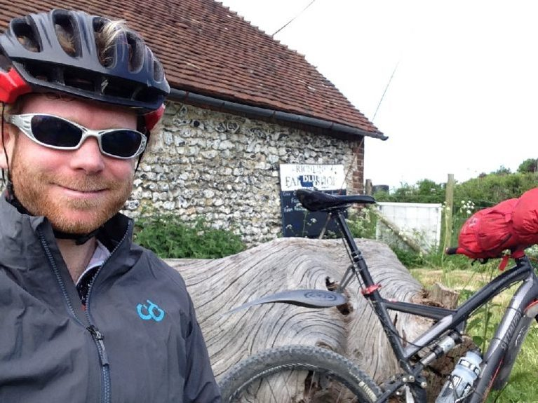 Bikepacking south downs