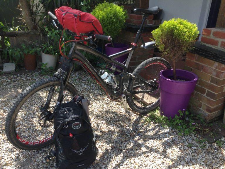 Bikepacking Southdowns Way Cycle Touring