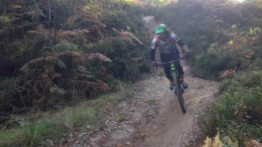 Surrey Hills MTB weekends short breaks holidays