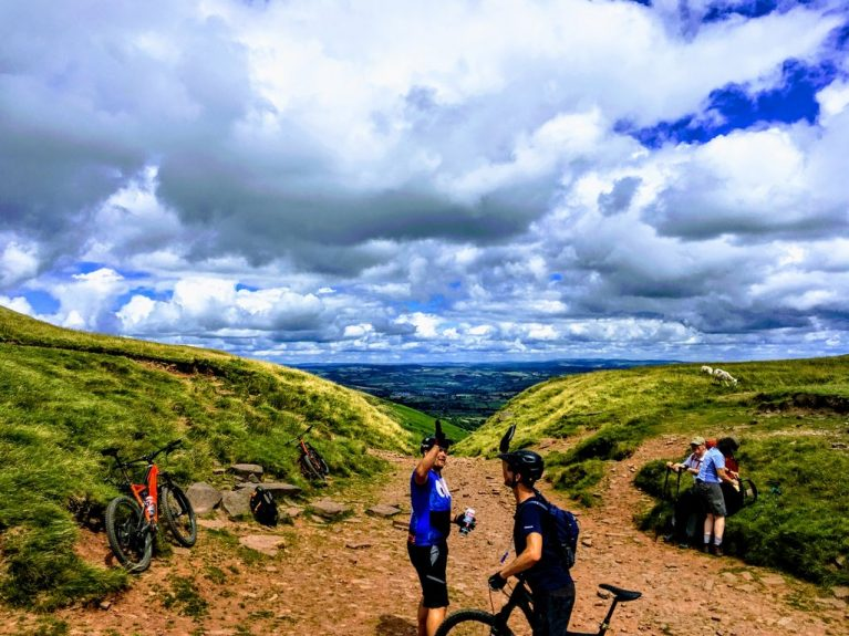 The Gap MTB Ride Brecon Beacons