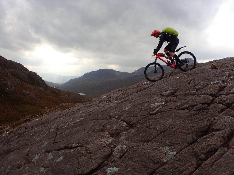 Marmalade MTB in Torridon level 3 mtb leader