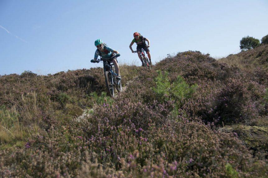 Mountain biking Purbeck Hills Corfe Castle MTB