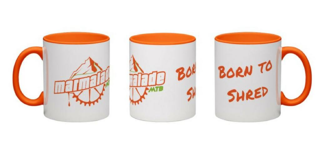 Mountain biking gifts evouchers mtb mug
