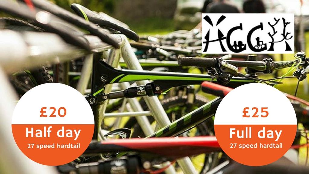 South Downs Mountain Bike Hire Rental