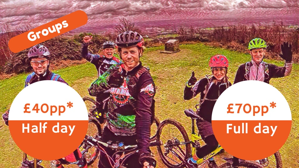 South Downs Guided Mountain Biking Prices
