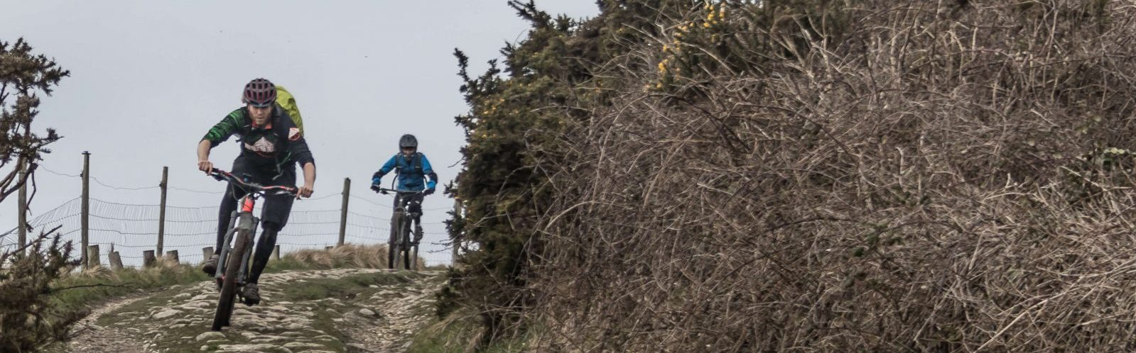 Corfe castle Isle of purbeck guided mtb rides