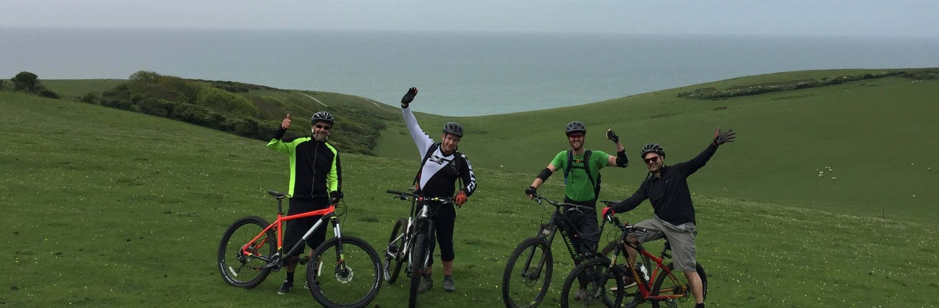 Guided Ride South Downs MTB Day out Birling gap mountain biking