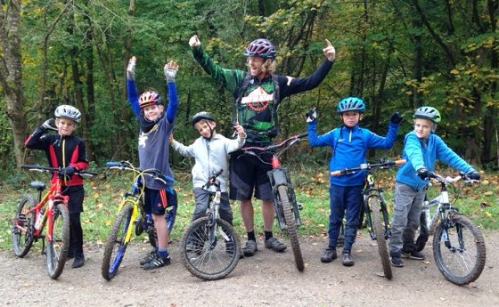 School Holiday Mountain Biking on the South Downs Stanmer Park